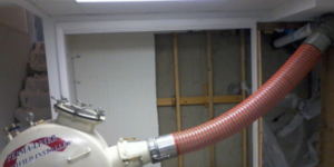 Inserting new cure-in-place pipe before curing